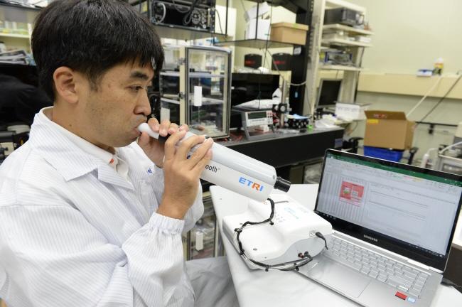[2019-45호] ETRI, 호흡 이용해 폐암 발견하는 '전자코'개발